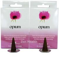 Elements Opium Incense Cones x 2 Boxes 30 Large Cones