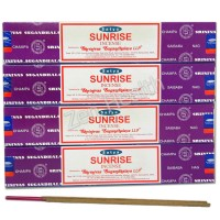Satya Nag Champa Sunrise Sandalwood, Vanilla and Citrus Incense Sticks