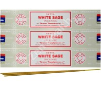 Satya Nag Champa White Sage Incense Sticks