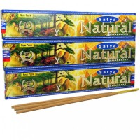 Satya Natural Agarbatti Incense Sticks x 3 Packs