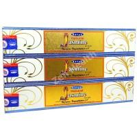 Satya Nag Champa Jasmine Incense Sticks x 3 Packs