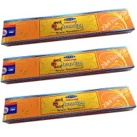 Satya Nag Champa Chandan Sandalwood Incense Sticks x 3 Packs