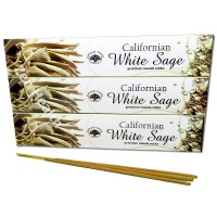 Green Tree Californian White Sage Incense Sticks x 3 Packs