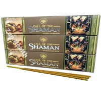 Green Tree Call of The Shaman Incense Sticks x 3 Packs
