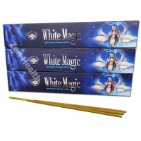 Green Tree White Magic Incense Sticks x 3 Packs