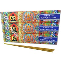 Green Tree Vajrayana Buddhist Tantra Incense Sticks x 3 Packs