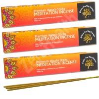 Premium Meditation Masala Incense Sticks – Golden Tree Nag Champa