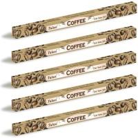 5 x Tulasi Coffee Incense Sticks Packs - Fresh Energy Aroma