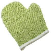 Skincare Sensitive Skin Exfoliating Washing Glove - Green