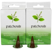 Elements Patchouli Incense Cones x 2 Boxes 30 Large Cones