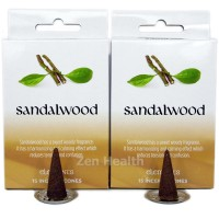 Elements Sandalwood Incense Cones x 2 Boxes 30 Large Cones