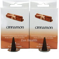 Elements Cinnamon Incense Cones x 2 Boxes 30 Large Cones