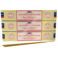 Satya Nag Champa Californian White Sage Incense Sticks