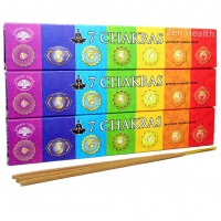 Green Tree 7 Chakra Incense Sticks x 3 Packs