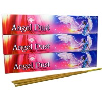 Green Tree Angel Dust Incense Sticks Masala, Honey, Plant Aroma x 3 Packs