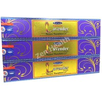 Satya Nag Champa Lavender Incense Sticks Sweet Floral x 3 Packs