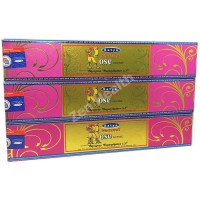 Satya Nag Champa Rose Incense Sticks Sweet Floral x 3 Packs