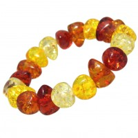 Large Stone Baltic Amber Quality Polished Bracelet