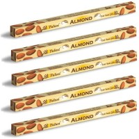 5 x Tulasi Almond Incense Sticks Packs - Soft Soothing Aroma