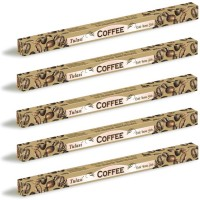 5 x Tulasi Coffee Incense Sticks Packs - Fresh Energy Aroma