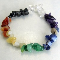 Chakra Bracelet Full 7 Chakra With Chipped Stones For Healing and Balancing