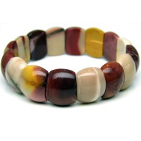 Natural Mookaite Jasper Bracelet With Gift Box